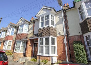 Thumbnail 3 bed terraced house for sale in Silverlands Road, St. Leonards-On-Sea, East Sussex.