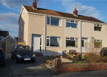 Thumbnail 2 bed semi-detached house for sale in Llanrhos Road, Llandudno