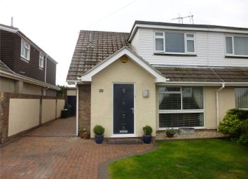 Thumbnail 3 bed semi-detached bungalow for sale in Longacre Drive, Nottage, Porthcawl