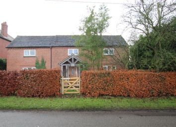Thumbnail 3 bed detached house for sale in Bretby Lane, Bretby, Burton-On-Trent