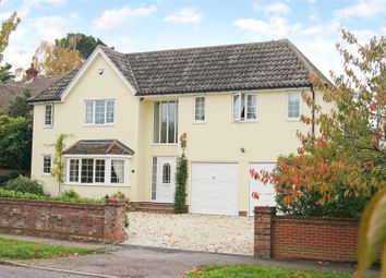 Thumbnail 4 bed detached house for sale in Westbury Avenue, Bury St. Edmunds