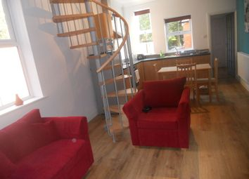 Thumbnail 1 bed duplex to rent in Belper Road, Derby