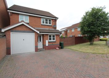 Thumbnail 3 bed detached house for sale in Woodruff Way, Walsall