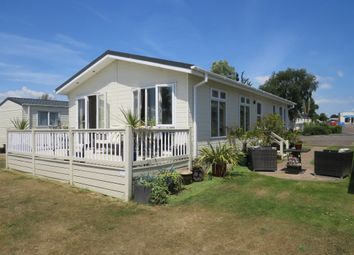 Thumbnail 2 bed lodge for sale in London Road, Clacton-On-Sea