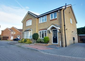 Thumbnail 3 bed semi-detached house for sale in Glover Close, Cheshunt, Waltham Cross