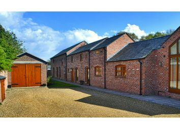 Thumbnail 6 bed barn conversion for sale in Holmes Chapel Road, Congleton