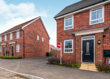 Thumbnail 2 bed semi-detached house for sale in Talbot Road North, Wellingborough
