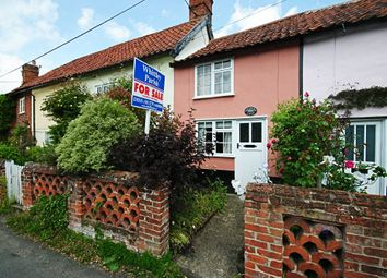 Thumbnail 2 bed cottage for sale in Cross Street, Hoxne, Eye