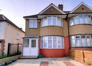 Thumbnail 3 bed end terrace house for sale in Clare Road, Greenford