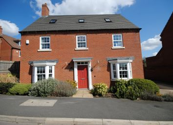 Thumbnail 5 bed detached house to rent in Hubbard Road, Burton-On-The-Wolds, Loughborough