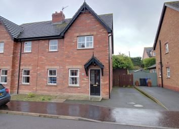 Thumbnail 3 bed semi-detached house for sale in Cornmill Way, Millisle