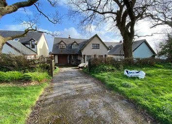 Thumbnail 4 bed detached house for sale in Oakleigh, Little Cross, Cosheston, Pembroke Dock, Pembrokeshire