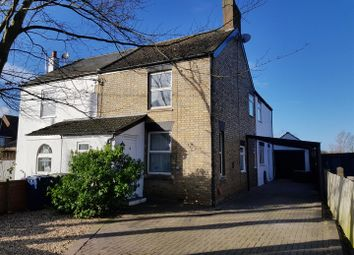 Thumbnail 4 bedroom semi-detached house for sale in Doddington Road, Benwick, March