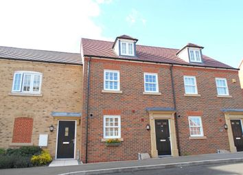 Thumbnail 3 bed terraced house for sale in Greenkeepers Road, Great Denham, Bedfordshire