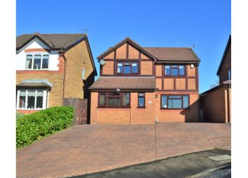 Thumbnail 4 bed detached house for sale in Brackley Drive, Manchester