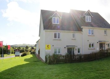 Thumbnail 4 bed semi-detached house for sale in Chariot Drive, Kingsteignton, Newton Abbot