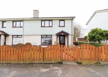 Thumbnail 3 bed semi-detached house for sale in Overtoun Road, Clydebank