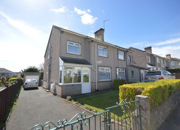 Thumbnail 3 bed semi-detached house for sale in Carnock Road, Plymouth