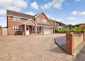 Thumbnail 5 bed detached house for sale in Lambourn Way, Lords Wood, Chatham, Kent
