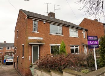 Thumbnail 3 bed semi-detached house for sale in Flockton Crescent, Sheffield