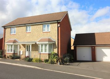 Thumbnail 4 bed detached house for sale in Larkspur Drive, Newton Abbot, Devon.