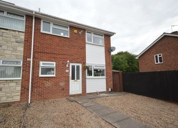 Thumbnail 3 bedroom semi-detached house for sale in Elizabeth Gardens, Whetstone, Leicester