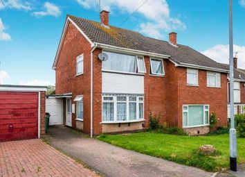 Thumbnail 3 bed semi-detached house for sale in Wordsworth Avenue, Highfields, Stafford, Staffordshire