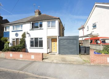 Thumbnail 3 bed semi-detached house for sale in Clements Road, Ramsgate