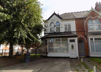 4 bed end terrace house for sale in Grosvenor Road, Handsworth, Birmingham B20