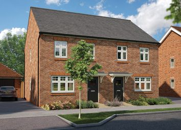 """Thumbnail 3 bed detached house for sale in """"The Magnolia"""" at Heyford Park, Camp Road, Upper Heyford, Bicester"""