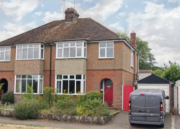 Thumbnail 3 bed semi-detached house for sale in Westley Road, Bury St. Edmunds