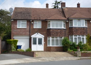 Thumbnail Semi-detached house for sale in Wilton Road, Cockfosters, Herts