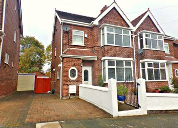 Thumbnail 3 bed semi-detached house for sale in St. Vincent Road, Prenton