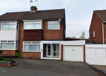 Thumbnail 3 bed semi-detached house for sale in Lansdowne Road, Halesowen