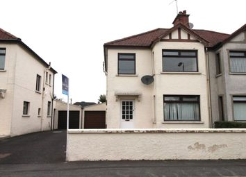 Thumbnail 3 bed semi-detached house for sale in Laurelbank Avenue, Newtownards