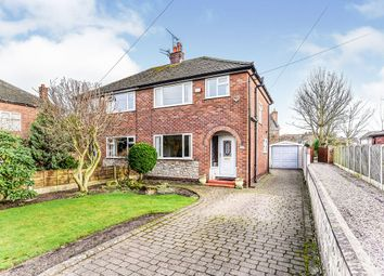 Thumbnail 3 bed semi-detached house for sale in Bramhall Moor Lane, Hazel Grove, Stockport, Greater Manchester
