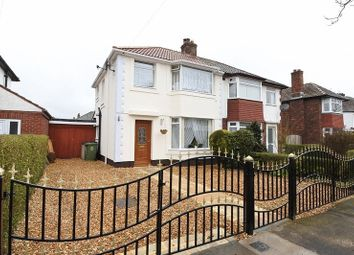 Thumbnail 3 bed semi-detached house for sale in Knowe Park Avenue, Stanwix, Carlisle