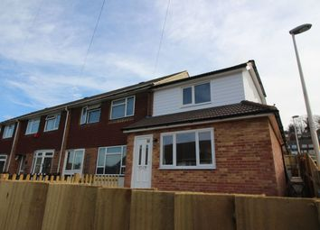 Thumbnail 2 bed terraced house to rent in Brendon Avenue, Walderslade, Chatham