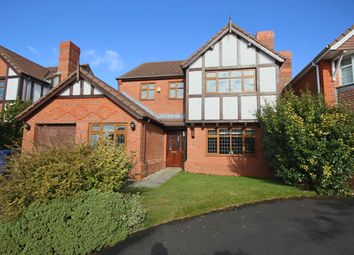 Thumbnail 4 bed detached house for sale in Moss Wood Close, Chorley