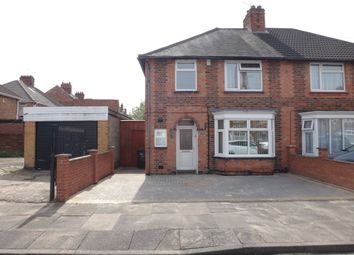 Thumbnail 3 bedroom semi-detached house for sale in Mervyn Road, Off Evington Valley Road, Leicester