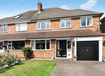 Thumbnail 4 bed semi-detached house for sale in Malvern Road, Balsall Common, West Midlands