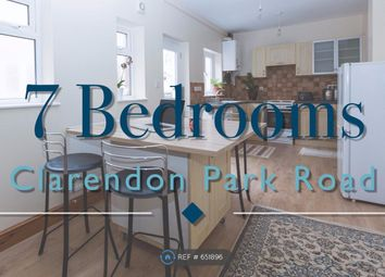 Thumbnail 7 bed terraced house to rent in Clarendon Park Road, Leicester