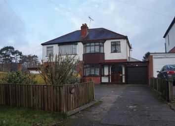 Thumbnail 3 bed semi-detached house for sale in Ratby Lane, Kirby Muxloe, Leicester