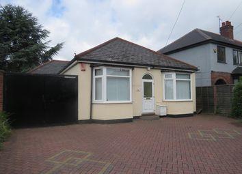 Thumbnail 4 bed bungalow to rent in Sheaf Lane, Sheldon, Birmingham