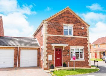 Thumbnail 3 bed detached house for sale in Finch Drive, Sleaford
