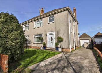 Thumbnail 3 bed semi-detached house for sale in Heol Tyn Y Coed, Rhiwbina, Cardiff
