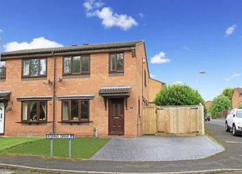 Thumbnail 3 bed semi-detached house for sale in Robins Drive, Madeley, Telford