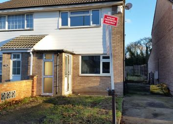Thumbnail 2 bed terraced house to rent in Trevino Drive, Rushey Mead, Leicester
