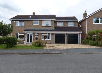 Thumbnail 5 bed detached house for sale in Elm Close, Stilton, Peterborough, Cambridgeshire.