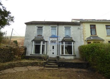 Thumbnail 3 bed semi-detached house for sale in Oakland Villas, Nantymoel, Bridgend .